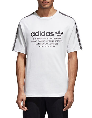 Adidas Originals NMD Cotton Tee-WHITE-Medium