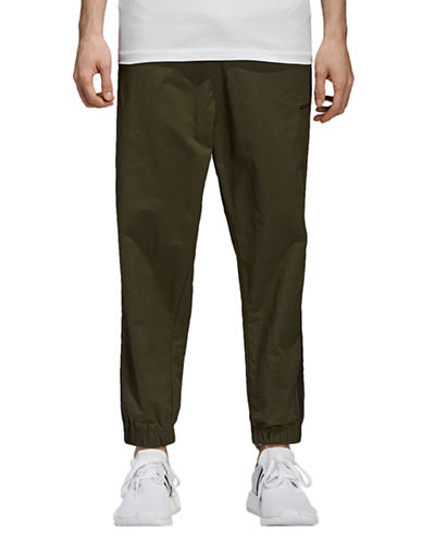 Adidas Originals Pull-On Track Pants-GREY-X-Large