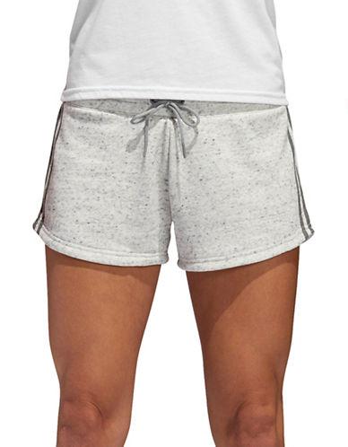 Adidas S2S French Terry Shorts-WHITE MELENGE-Medium 90058779_WHITE MELENGE_Medium
