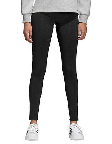 Adidas Originals Logo Jersey Tights-BLACK-Medium 90053406_BLACK_Medium
