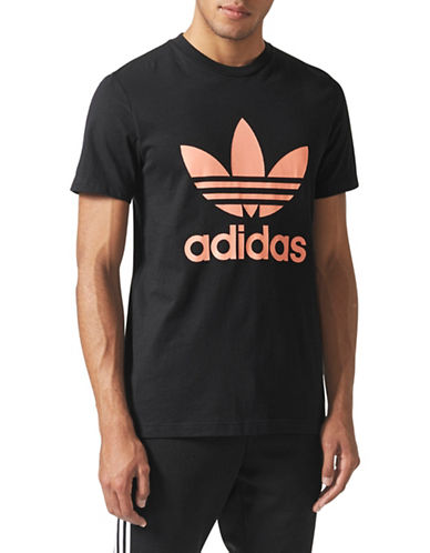 Adidas Originals Cotton Hiking Trefoil T-Shirt-BLACK-Small 89699085_BLACK_Small