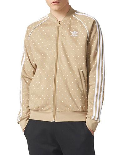 Adidas Originals Hiking Triangle Print Track Jacket-GREY-XX-Large 89699083_GREY_XX-Large