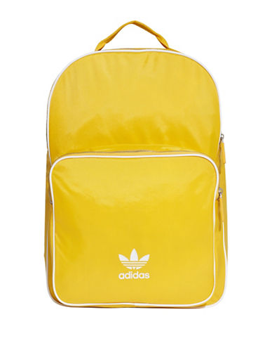 Adidas Original Classic Backpack-YELLOW-One Size