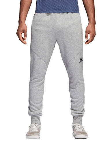 Adidas Prime Workout Pants-GREY-X-Large