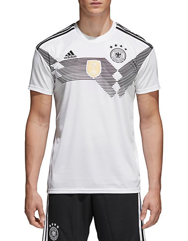 Adidas 2018 Germany Home Jersey Top-WHITE-Large 90084126_WHITE_Large