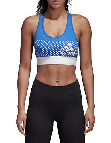 Adidas Climalite Logo Bra-BLUE-Medium 90089914_BLUE_Medium