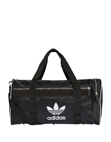 Adidas Classic Logo Duffel Bag-BLACK-One Size