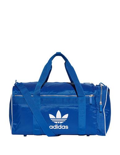 Adidas Classic Logo Duffel Bag-BLUE-One Size