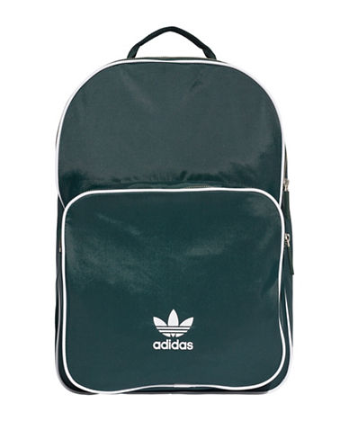 Adidas Classic Logo Backpack-GREEN-One Size