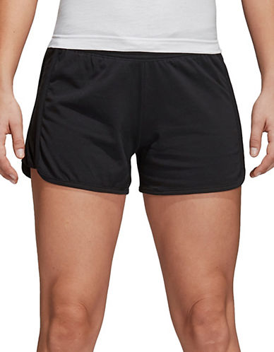 Adidas Essential Linear Shorts-BLACK-Small 90089843_BLACK_Small