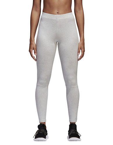 Adidas Essentials Linear Tights-WHITE MELENGE-Small 90058697_WHITE MELENGE_Small