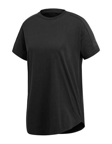 Adidas Z.N.E Elongated Cotton Tee-BLACK-Large 89933160_BLACK_Large