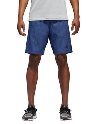 Adidas Speedbreaker Vertical Mesh Shorts-BLUE-Large
