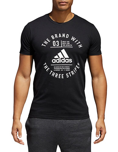 Adidas Emblem Short-Sleeve T-Shirt-BLACK-XX-Large 90058083_BLACK_XX-Large