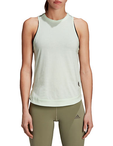 Adidas ZNE Cotton Tank Top-GREEN-Medium 90089849_GREEN_Medium