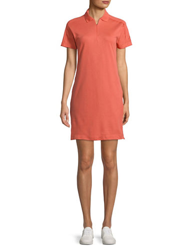Adidas ZNE Collared Dress-ORANGE-Medium 89798878_ORANGE_Medium