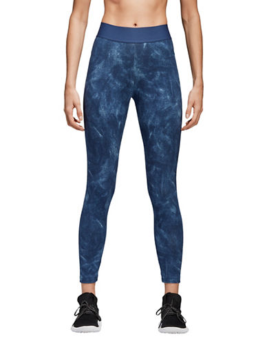 Adidas ID Printed Tights-BLUE-Small 90058758_BLUE_Small