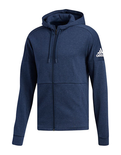 Adidas ID Stadium Jacket-INDIGO-Small