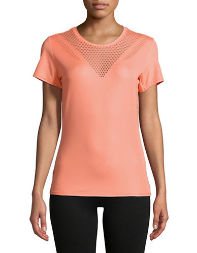 Adidas Feminine Short-Sleeve Tee-ORANGE-X-Small