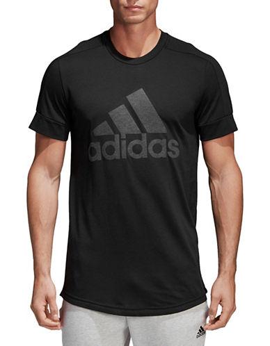 Adidas ID Big Logo Tee-BLACK-Small