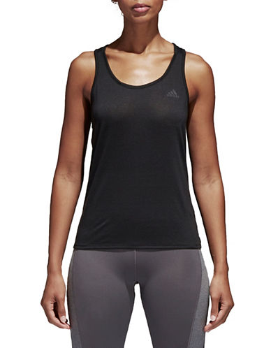 Adidas Climalite Prime Tank Top-BLACK-Medium