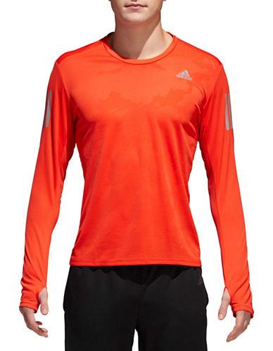Adidas Response Tee-RED-Large
