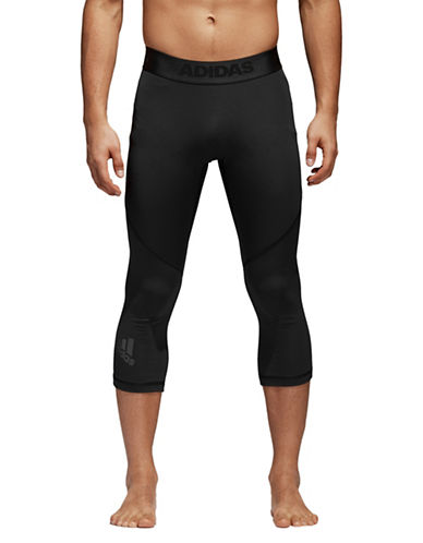 Adidas Alphaskin Sport Three-Quarter Tights-BLACK-Medium 89783202_BLACK_Medium