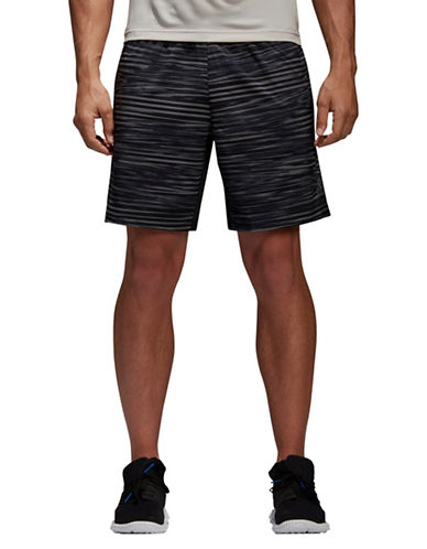 Adidas Climacool Elevated Graphic Shorts-BLACK-Medium