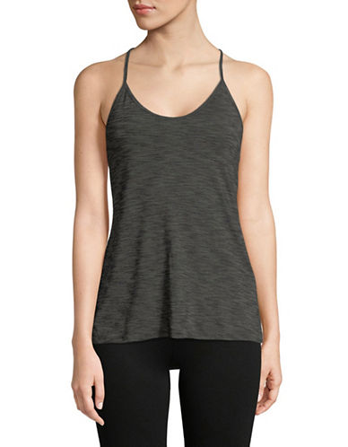 Adidas Strappy Tank Top-BLACK-Large