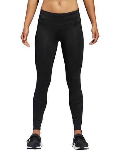 Adidas Zip Cuff Leggings-BLACK-Large 89747547_BLACK_Large