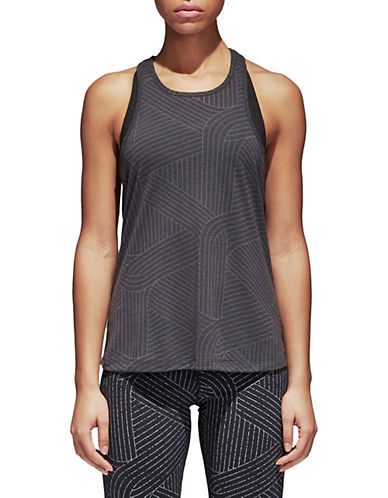 Adidas Climalite Burnout Graph Tank Top-BLACK-X-Small 90089837_BLACK_X-Small