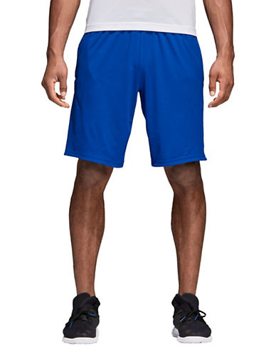 Adidas Prime Training Shorts-BLUE-X-Large