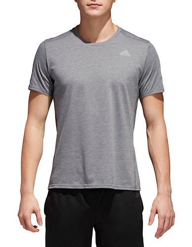 Adidas Response Soft Short-Sleeve T-Shirt-DARK GREY-Medium 90058065_DARK GREY_Medium
