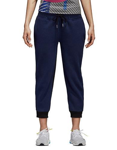 Stella Mccartney Essentials Cotton Sweatpants-BLUE-Large 90097083_BLUE_Large