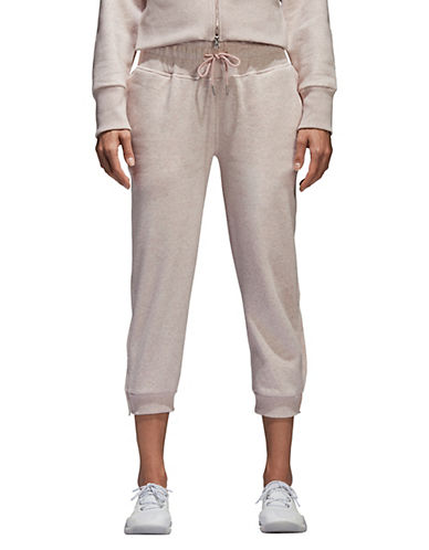 Stella Mccartney Essentials Cotton Sweatpants-BEIGE-Large 90097051_BEIGE_Large