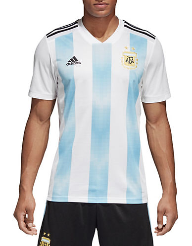 Adidas AFA Soccer Jersey T-Shirt-WHITE/BLUE-XX-Large 90084133_WHITE/BLUE_XX-Large