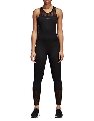 Stella Mccartney Training Ultimate All In One Jumpsuit-BLACK-Medium 90097058_BLACK_Medium