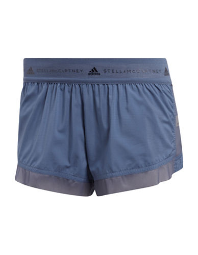 Stella Mccartney Run Adizero Shorts-BLUE-Large 89947575_BLUE_Large