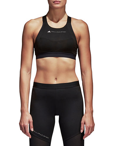 Stella Mccartney Performance Essentials Sports Bra-BLACK-Medium 90097074_BLACK_Medium