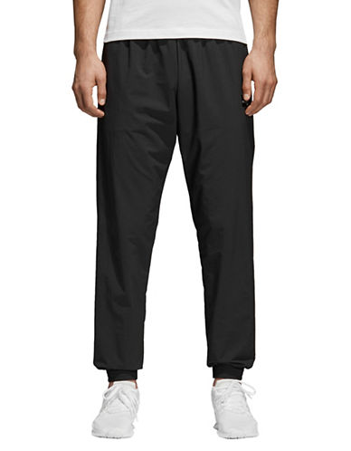 Adidas Originals Classic Pull-On Pants-BLACK-X-Small