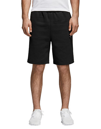 Adidas Originals Classic Pull-On Shorts-BLACK-Small