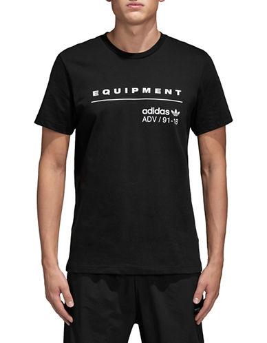 Adidas Originals Equipment ADV Cotton Tee-BLACK-Small