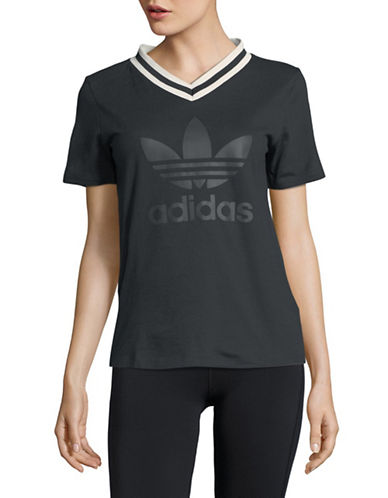 Adidas Originals Adibreak Cotton Tee-BLACK-Large