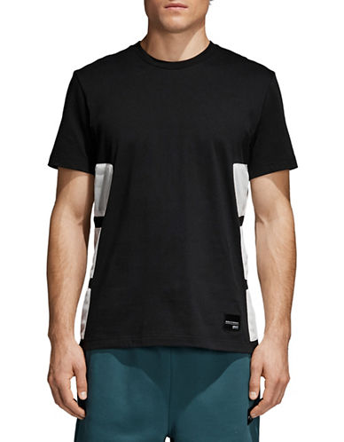 Adidas Originals EQT Bold Cotton Tee-BLACK-XX-Large
