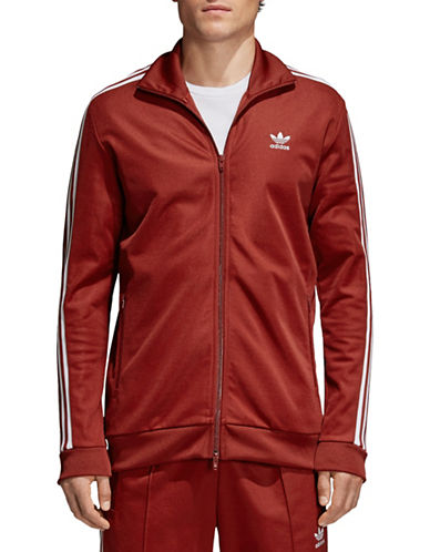Adidas Originals Retro Track Jacket-RED-X-Small