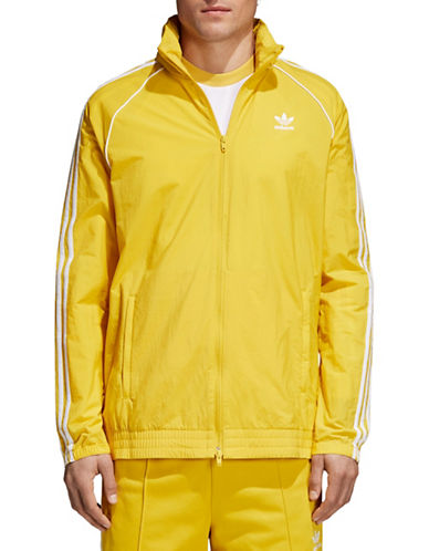 Adidas Originals SST Zip Windbreaker-YELLOW-Medium