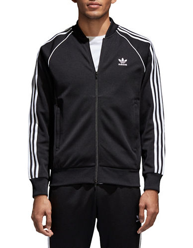 Adidas Originals Retro SST Track Jacket-BLACK-XX-Large