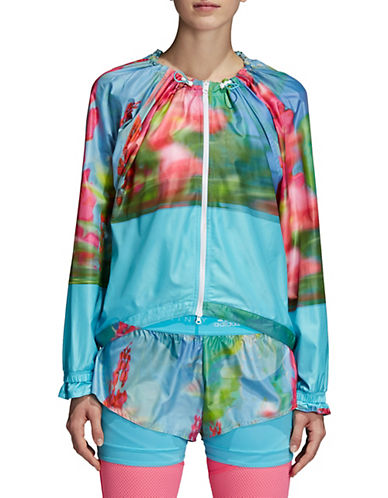 Stella Mccartney Run Adizero Printed Jacket-BLUE-Large 90097095_BLUE_Large