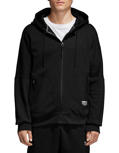 Adidas Originals NMD Water-Repellent Hoodie-BLACK-XX-Large