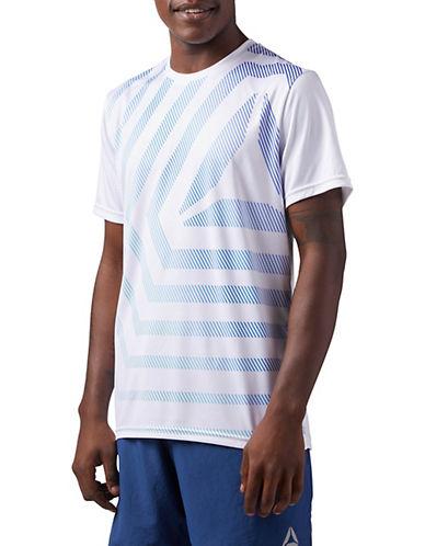 Reebok Running Short-Sleeve T-Shirt-WHITE-Large 90084392_WHITE_Large